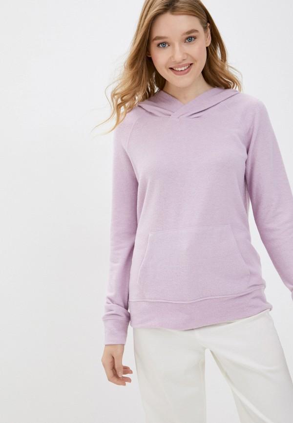 женские худи cotton on, фиолетовые