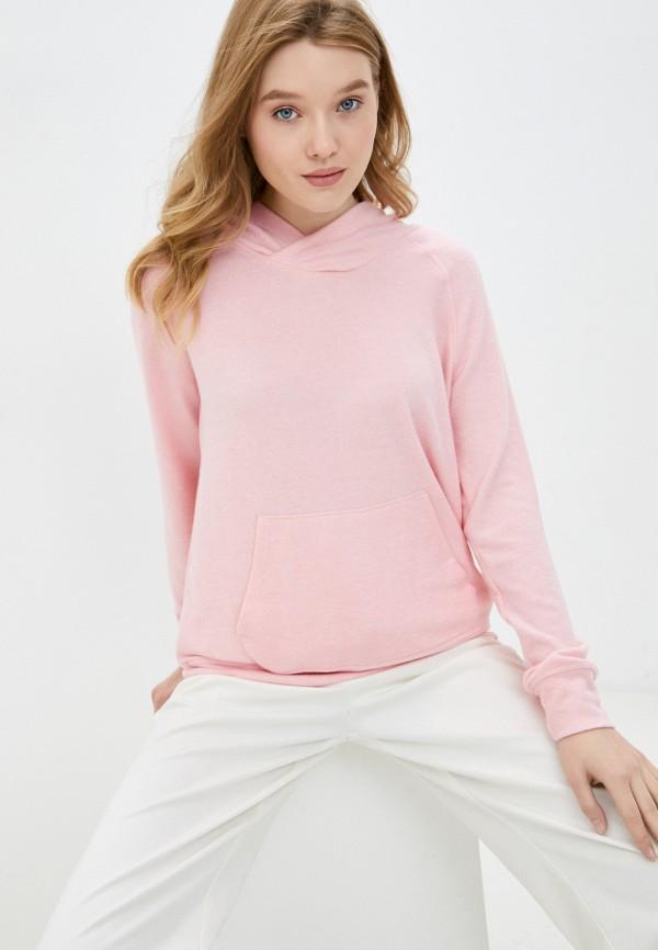 женские худи cotton on, розовые