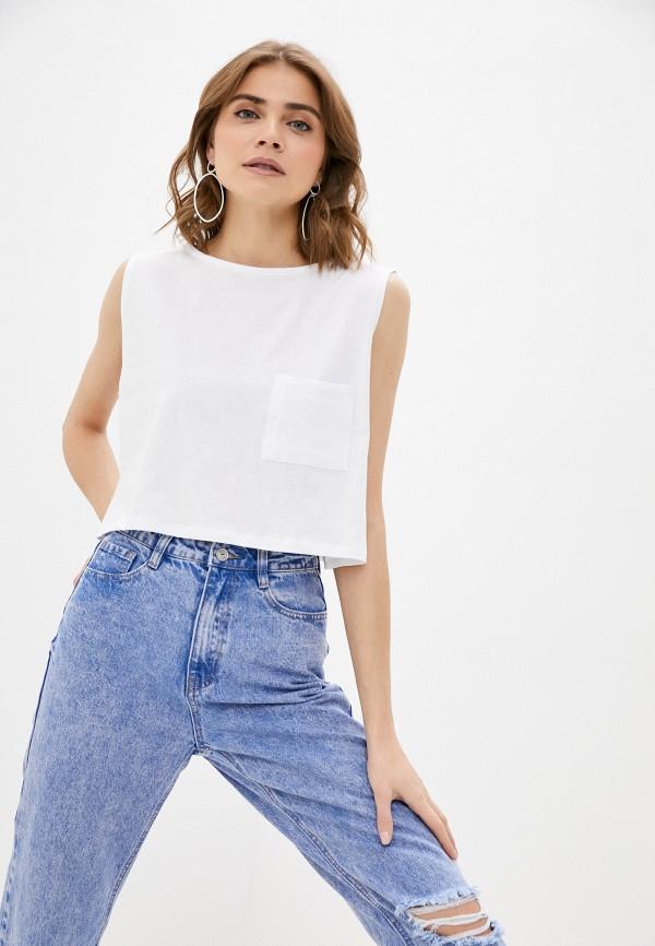 женский топ cotton on, белый