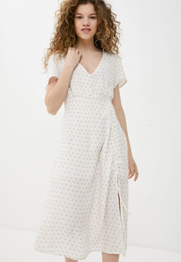 женское повседневные платье cotton on, белое