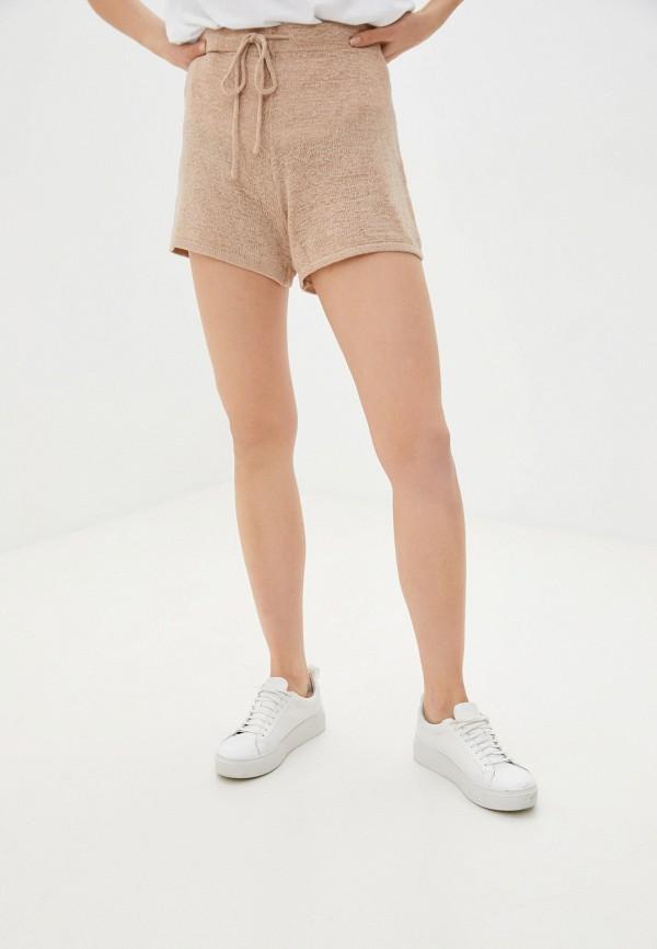 женские повседневные шорты cotton on, бежевые