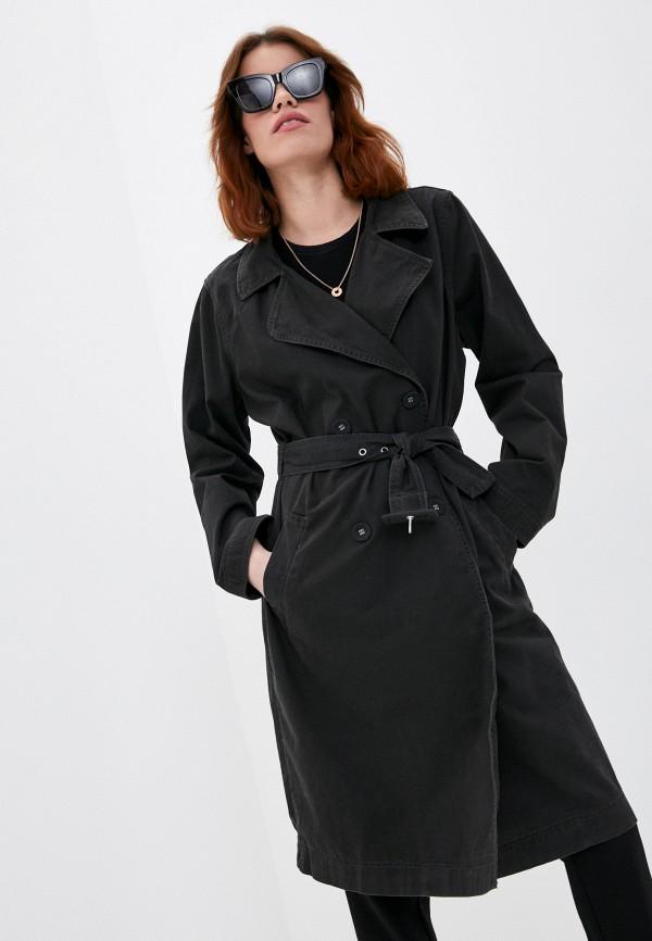 женский плащ cotton on, черный