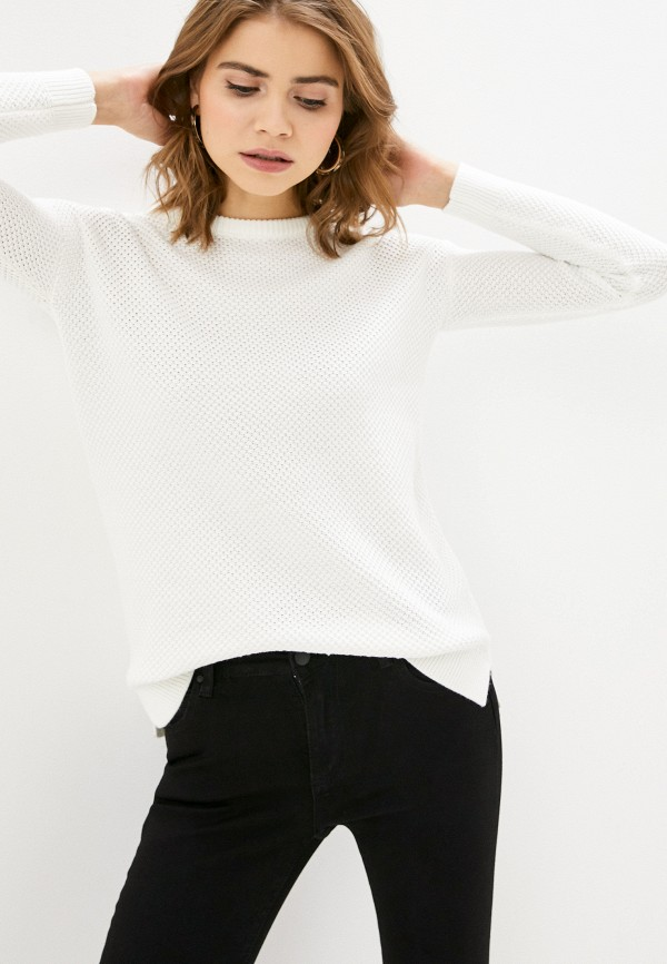 женский джемпер cotton on, белый