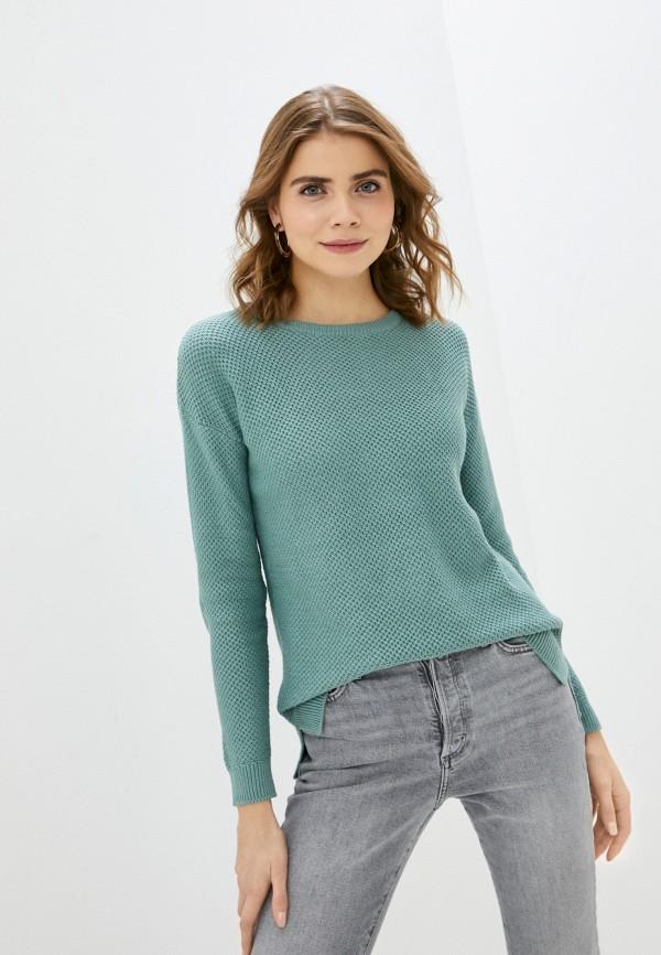 женский джемпер cotton on, бирюзовый