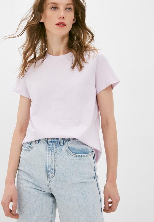 женская футболка cotton on, розовая