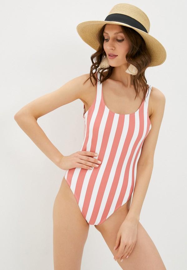 женский купальник cotton on, розовый