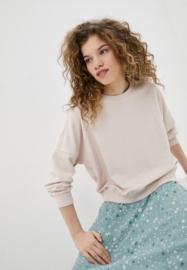 женский свитшот cotton on, розовый