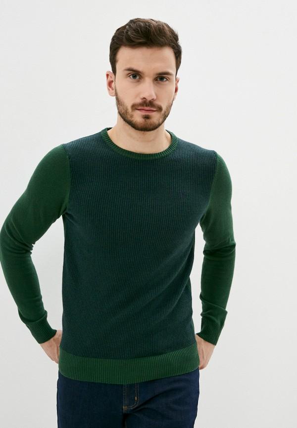 мужской джемпер conte of florence, зеленый