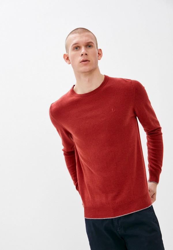 мужской джемпер conte of florence, красный