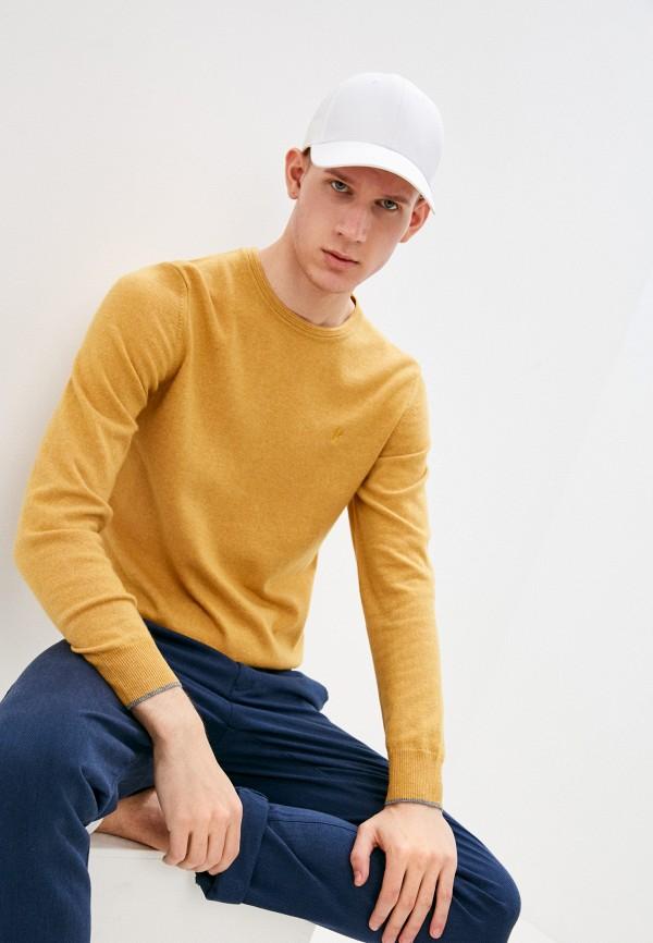 мужской джемпер conte of florence, желтый