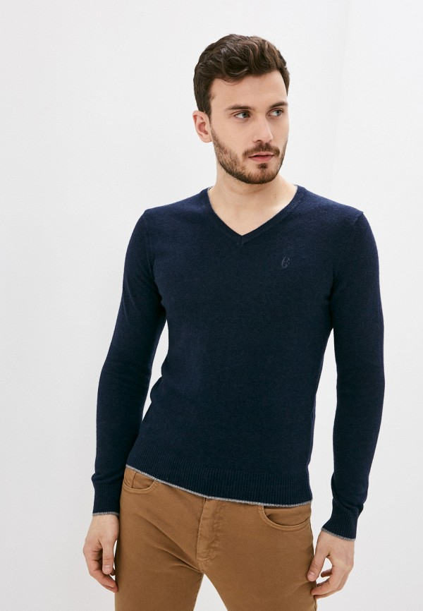 мужской пуловер conte of florence, синий