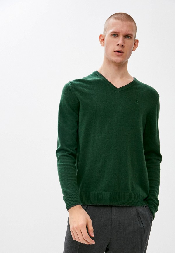 мужской пуловер conte of florence, зеленый