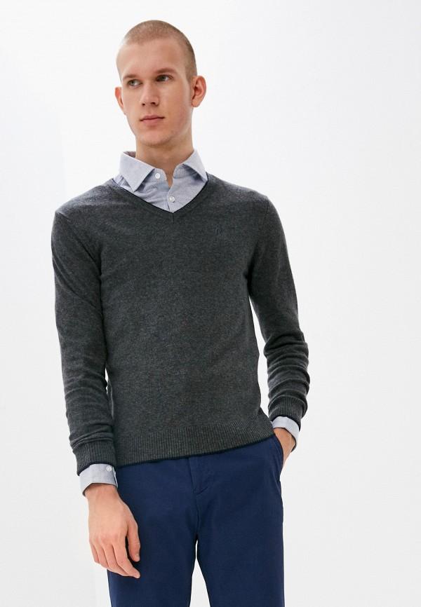 мужской пуловер conte of florence, серый