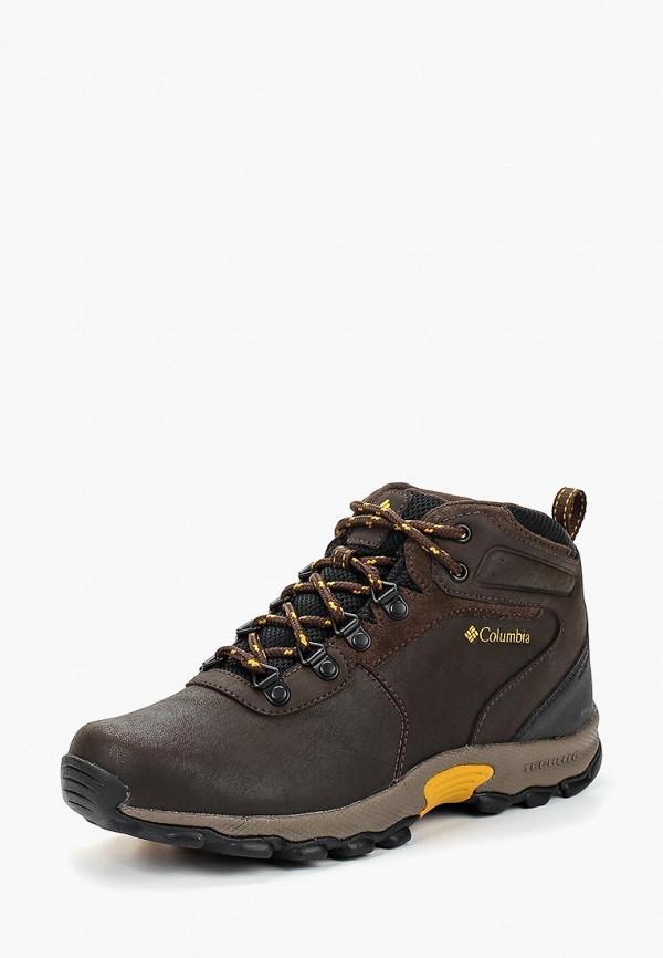 ботинки columbia для мальчика, коричневые