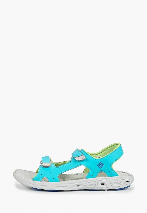сандалии columbia для мальчика, голубые