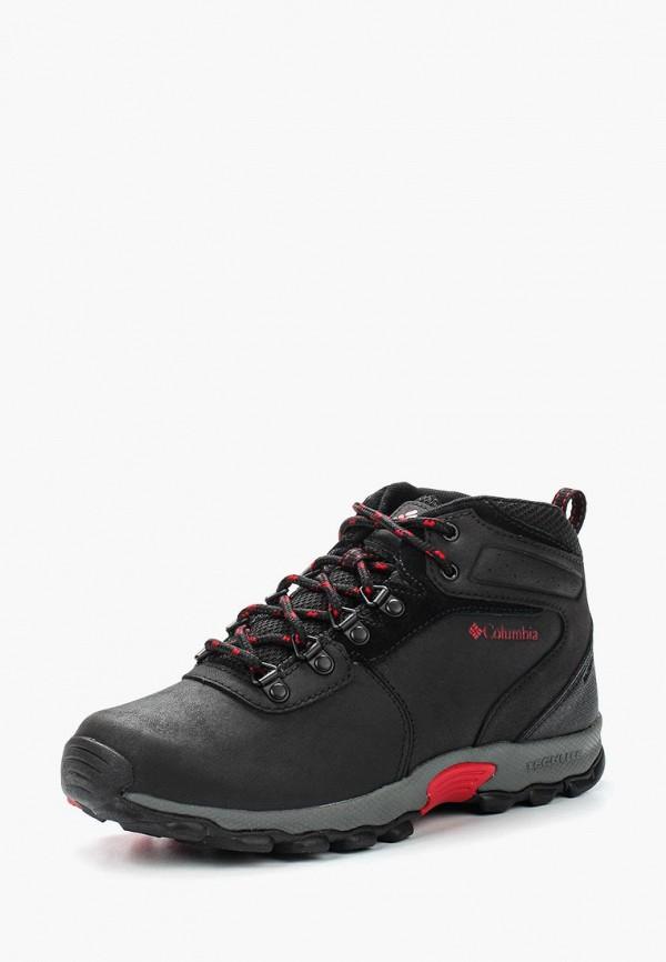 ботинки columbia для мальчика, черные
