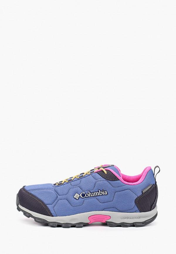 кроссовки columbia для девочки, фиолетовые