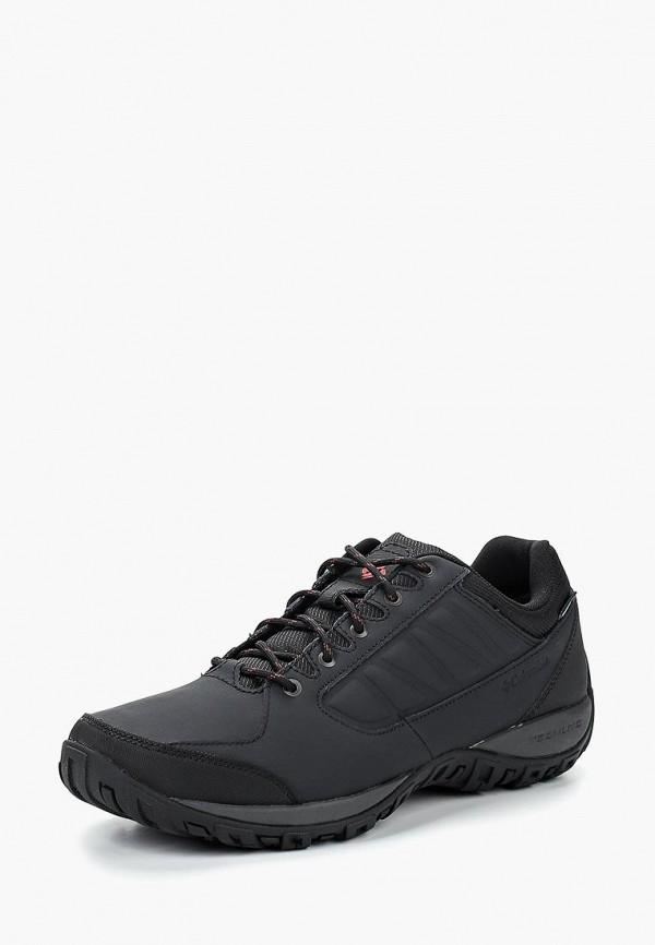 мужские кроссовки columbia, черные