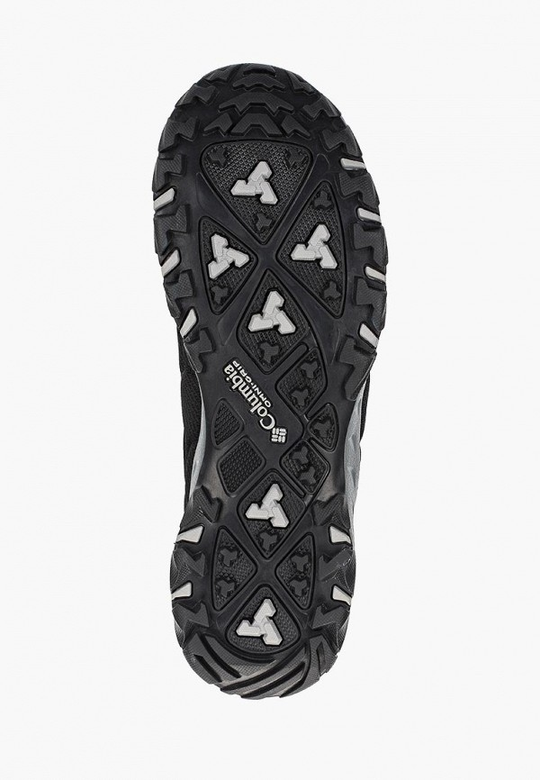 Фото 5 - мужские кроссовки Columbia черного цвета