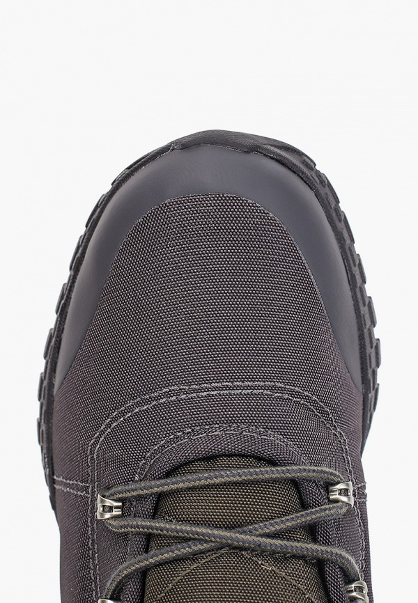 Фото 4 - мужские ботинки и полуботинки Columbia серого цвета