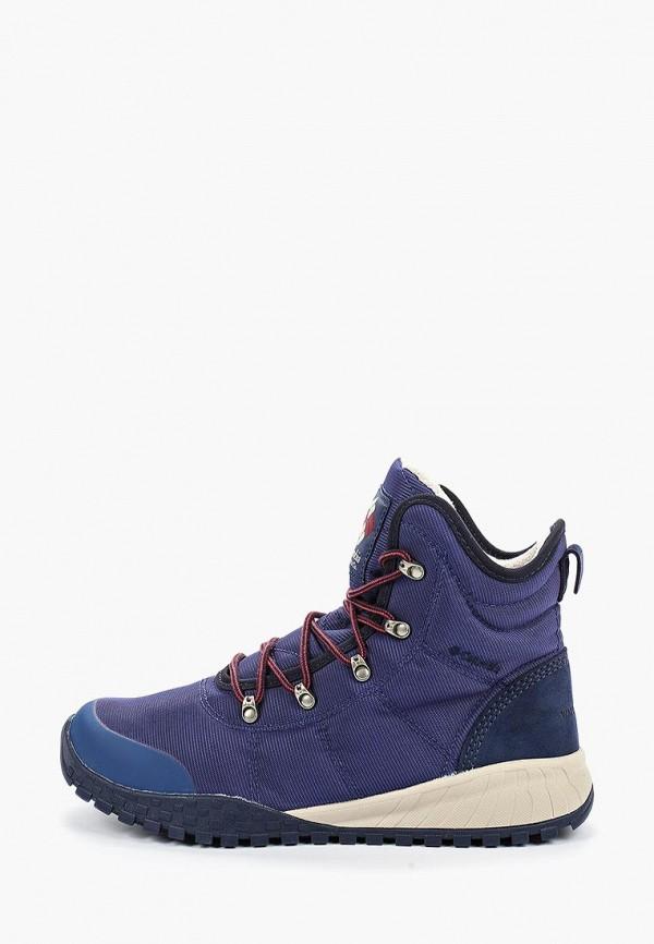 мужские ботинки columbia, синие