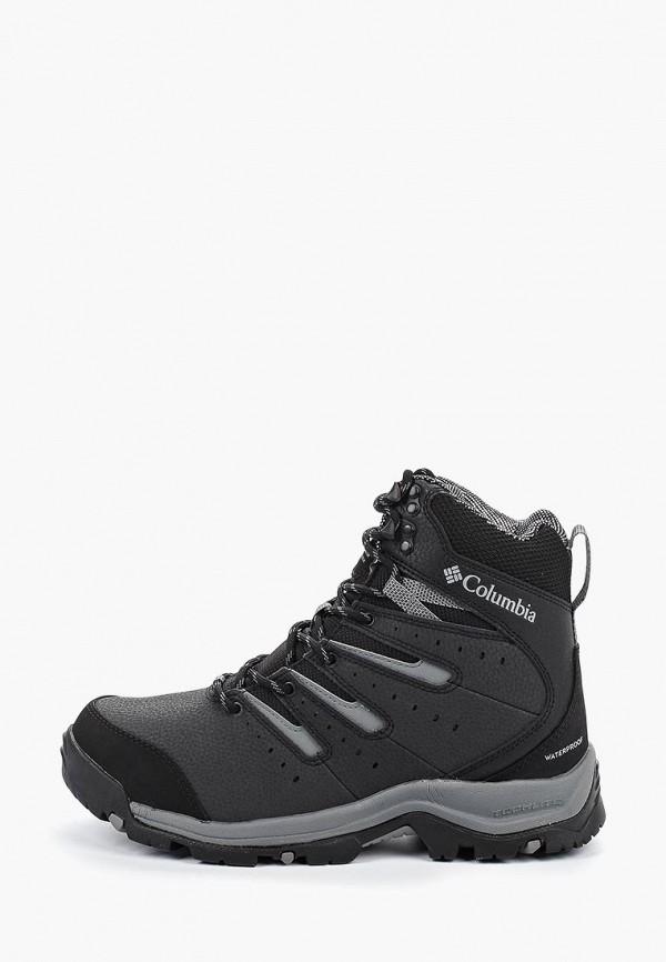 мужские ботинки columbia, черные