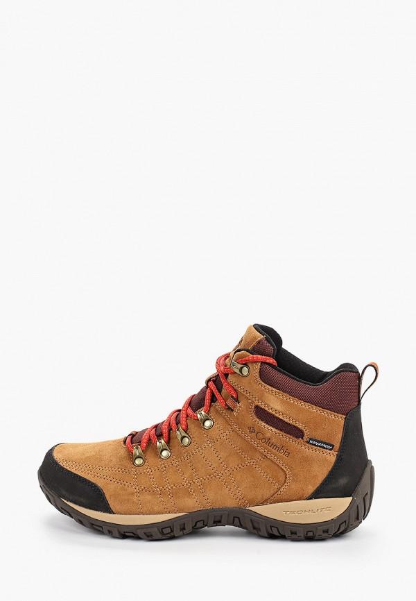 мужские ботинки columbia, оранжевые