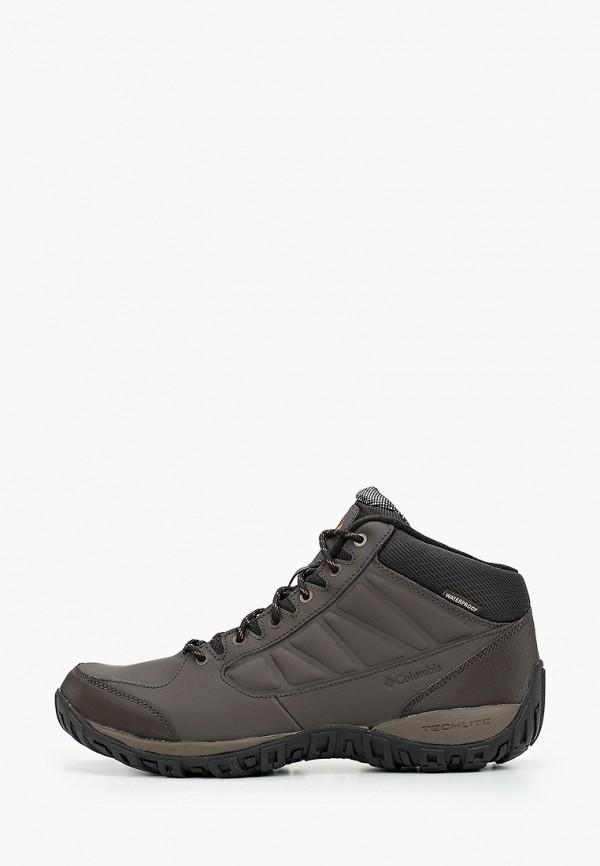 мужские ботинки columbia, коричневые