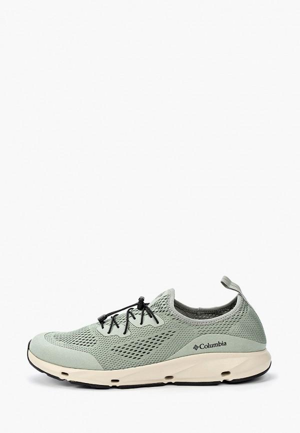 мужские низкие кроссовки columbia, зеленые