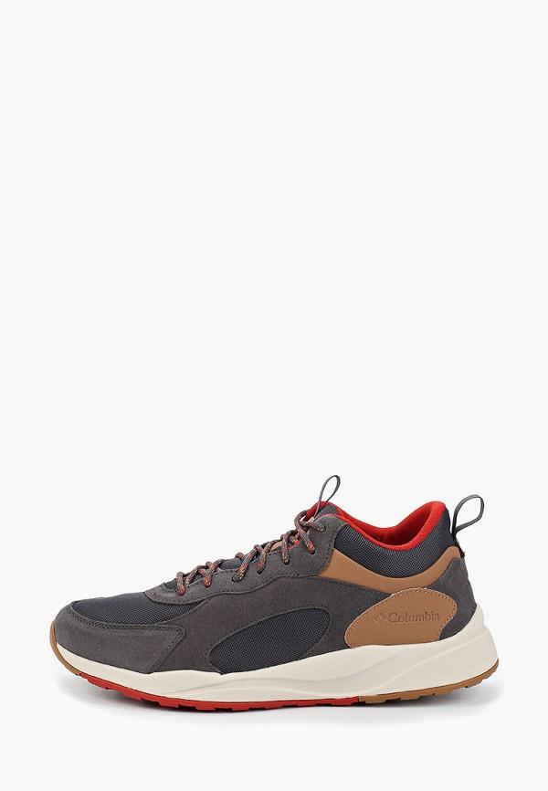 мужские низкие кроссовки columbia, коричневые