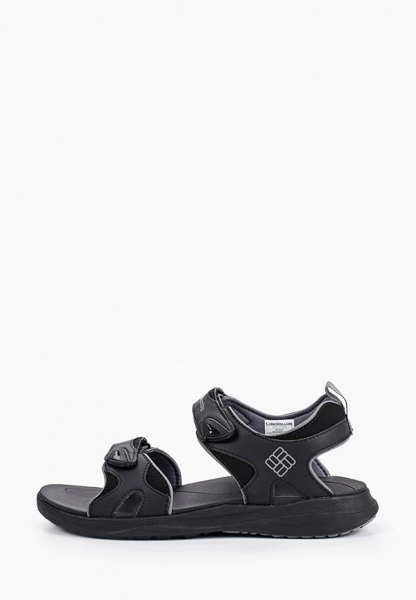 мужские сандалии columbia, черные