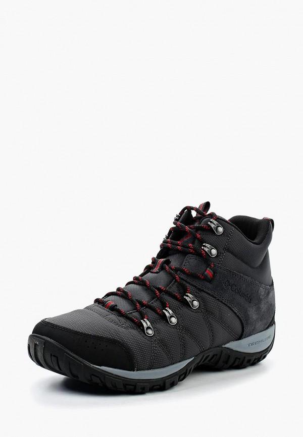 мужские ботинки columbia, серые