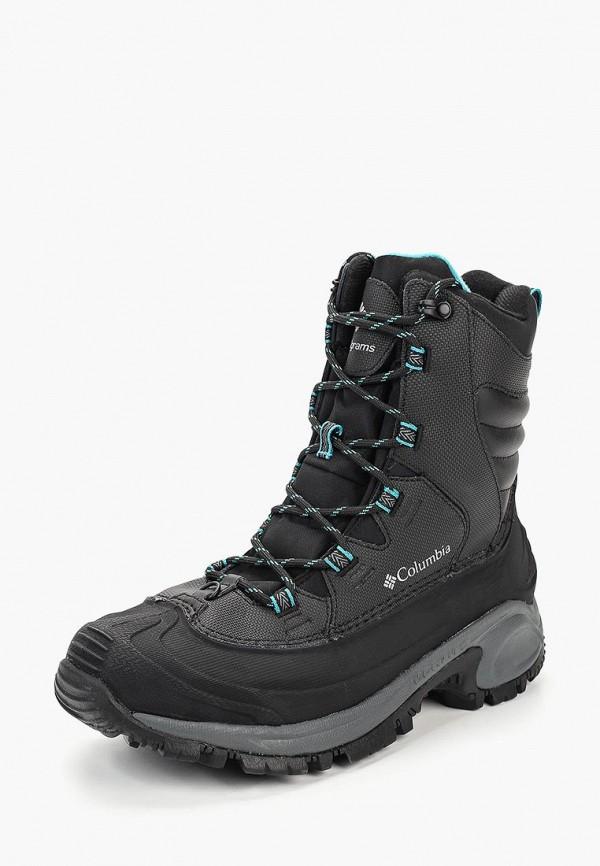 женские ботинки columbia, черные
