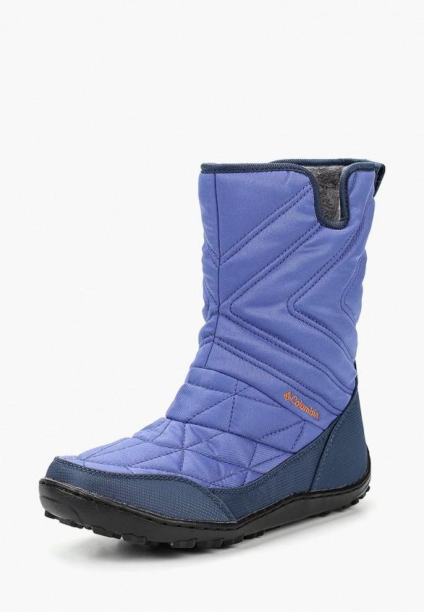 Купить Дутики Columbia, MINX™ SLIP III, CO214AWCPQY2, фиолетовый, Осень-зима 2018/2019