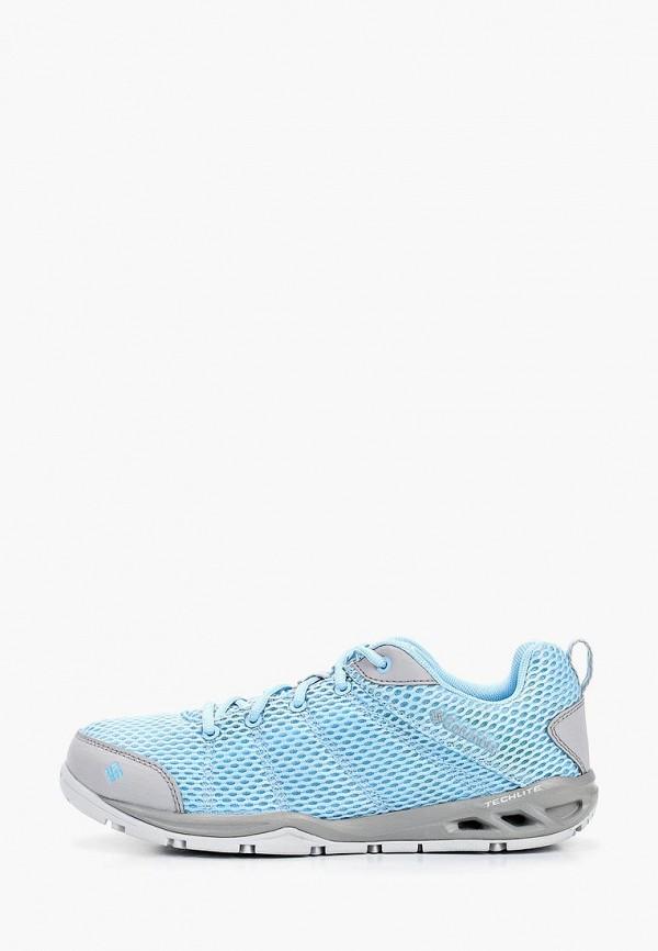 женские кроссовки columbia, голубые