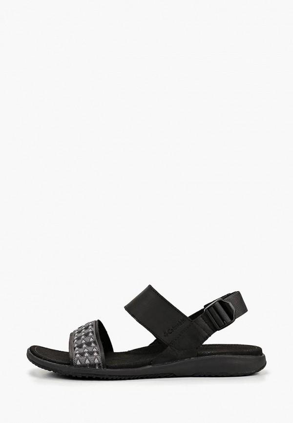 женские сандалии columbia, черные