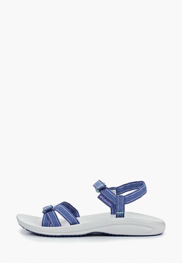 женские сандалии columbia, синие
