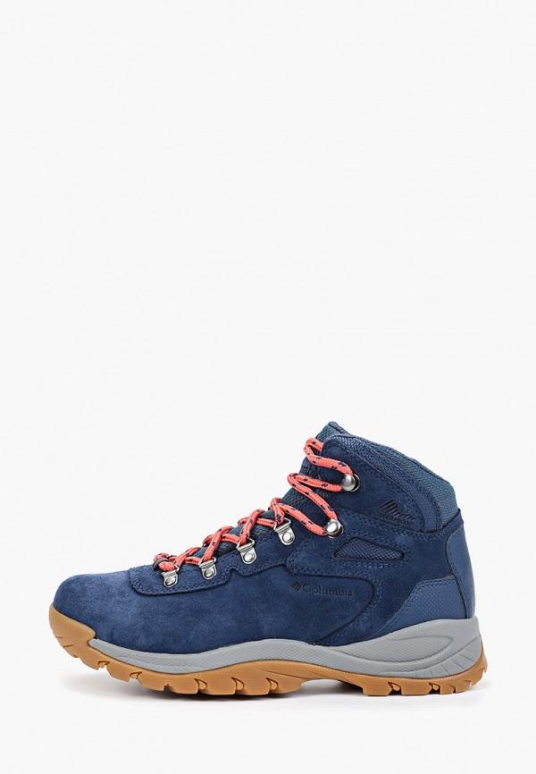 женские ботинки columbia, синие