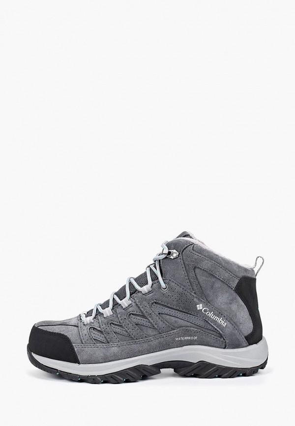женские ботинки columbia, серые