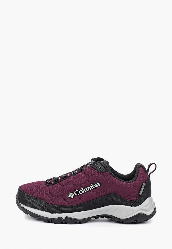 женские ботинки columbia, фиолетовые