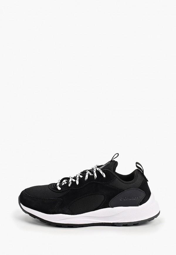 женские низкие кроссовки columbia, черные