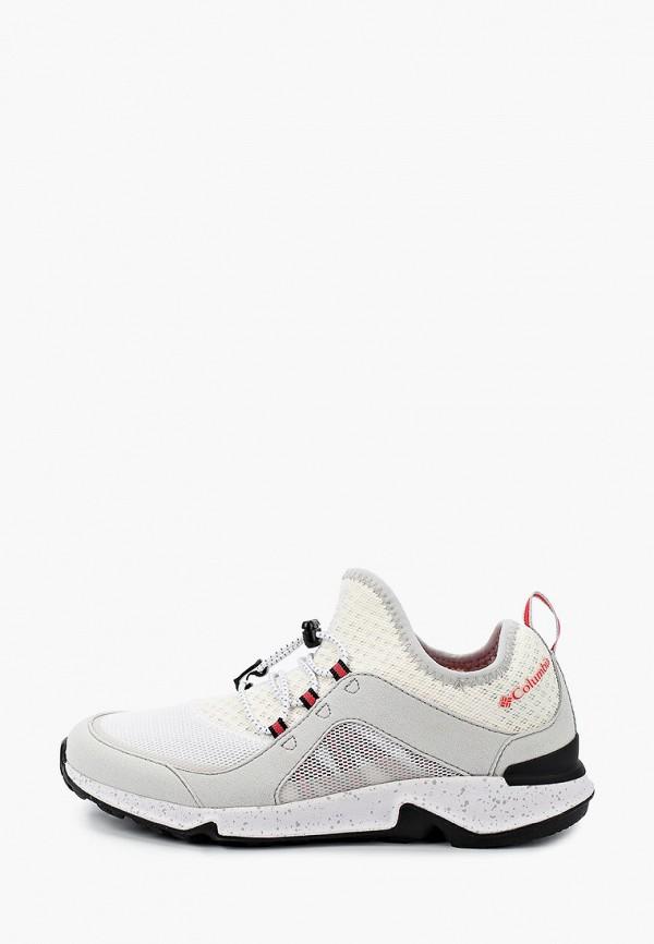 женские низкие кроссовки columbia, белые