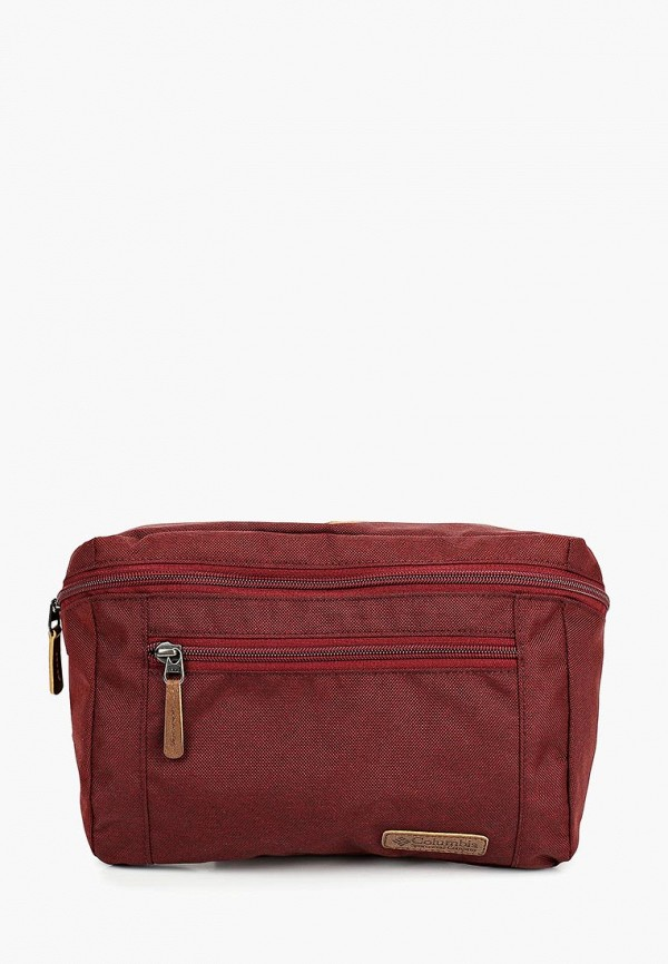 женская сумка columbia, бордовая