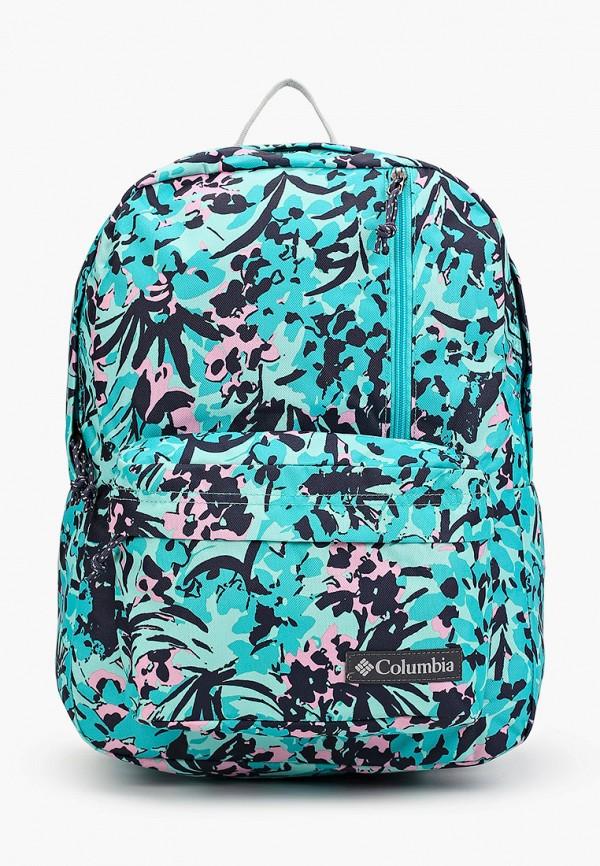 женский рюкзак columbia, бирюзовый