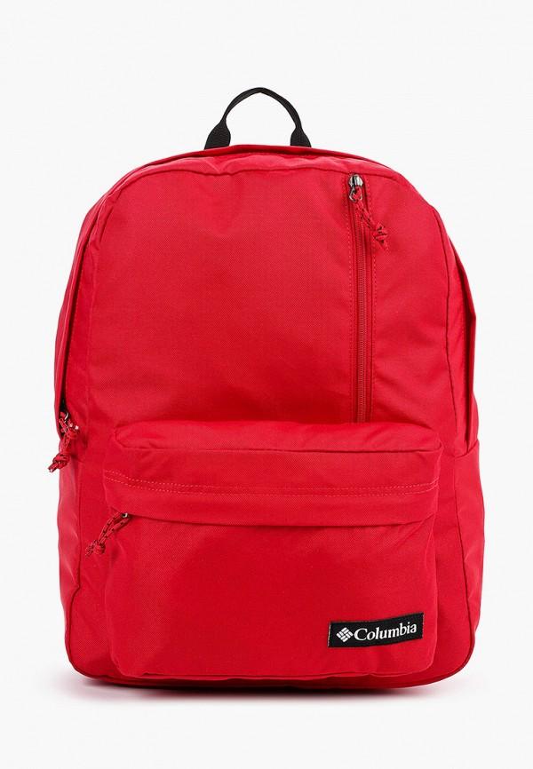 женский рюкзак columbia, красный