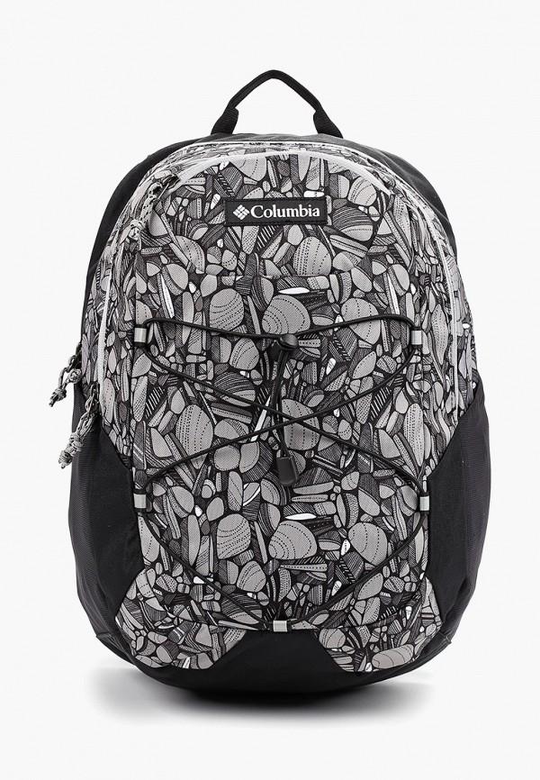 женский рюкзак columbia, серый