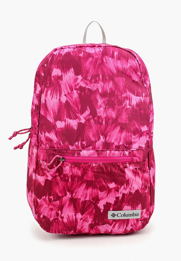 женский рюкзак columbia, розовый