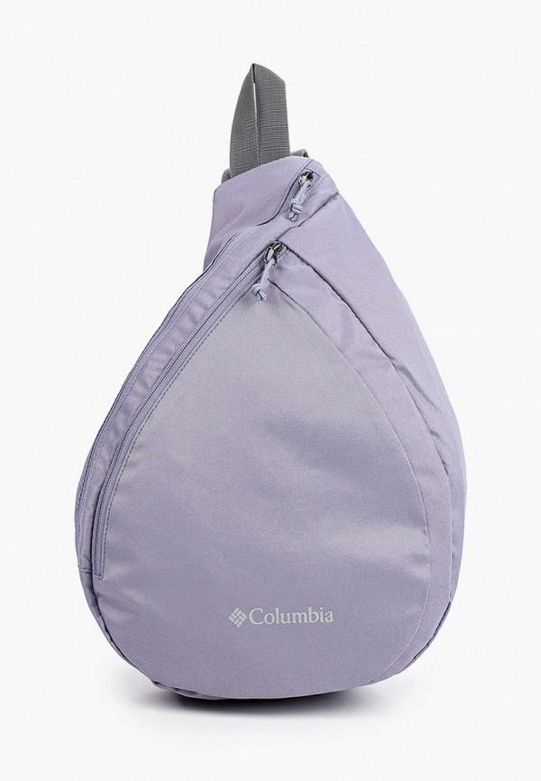 женский рюкзак columbia, фиолетовый
