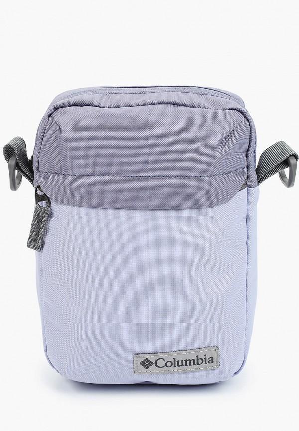 женская сумка через плечо columbia, фиолетовая