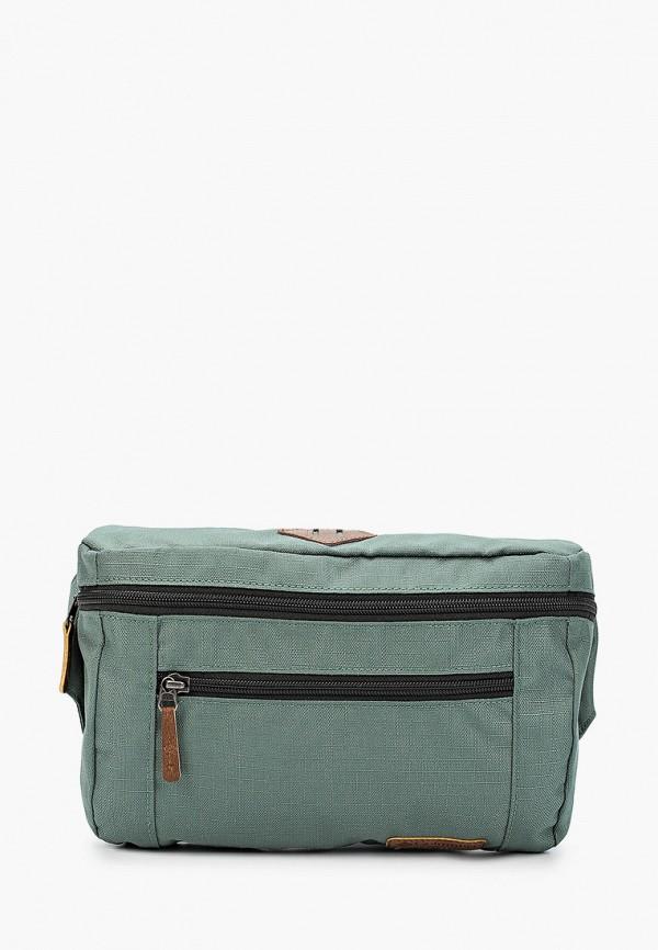 женская поясные сумка columbia, зеленая